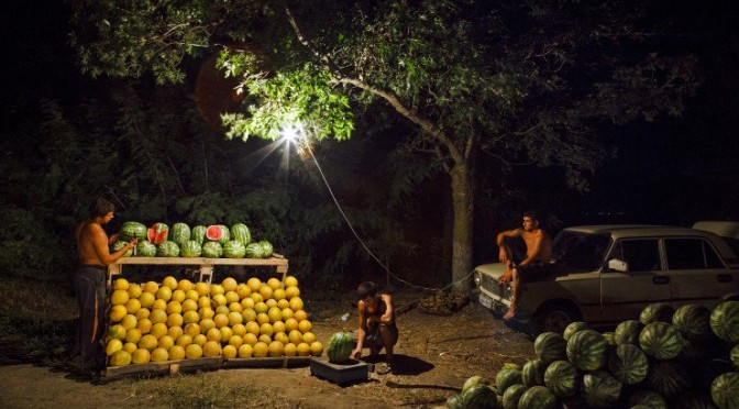 Melons amers,  Kirill Golovchenko, Actes sud, 2015  Photographier les sans grade.