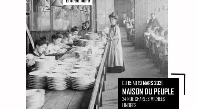 Exposition, les ouvrières en Limousin. Archives photographiques